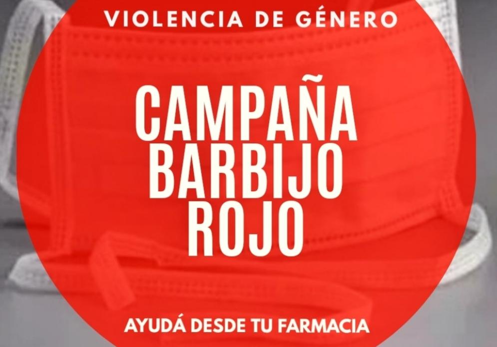 """Barbijo rojo"""", la clave para denunciar violencia de género en las ..."""